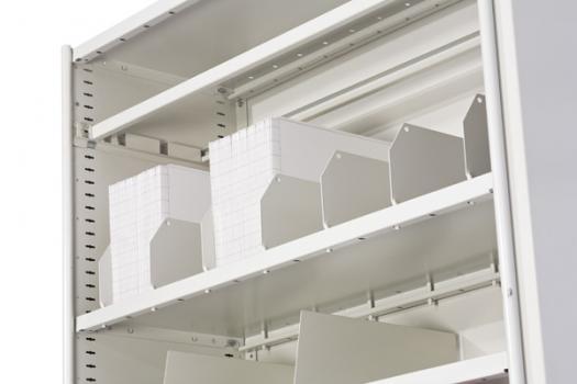 Divider Slotted Shelf Dexion